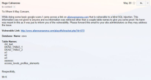 Email to Alienware
